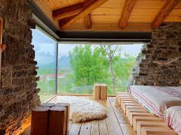 100 Contemporary Glass Houses Stunning Rustic Stone House With A Modern Touch