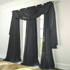 Bed Bath And Beyond Pink Sheer Curtains by Black Sheer Curtains U2013 Teawing Co