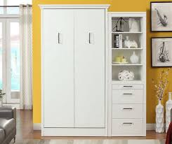 Stella Twin Murphy Bed with Storage Cabinet