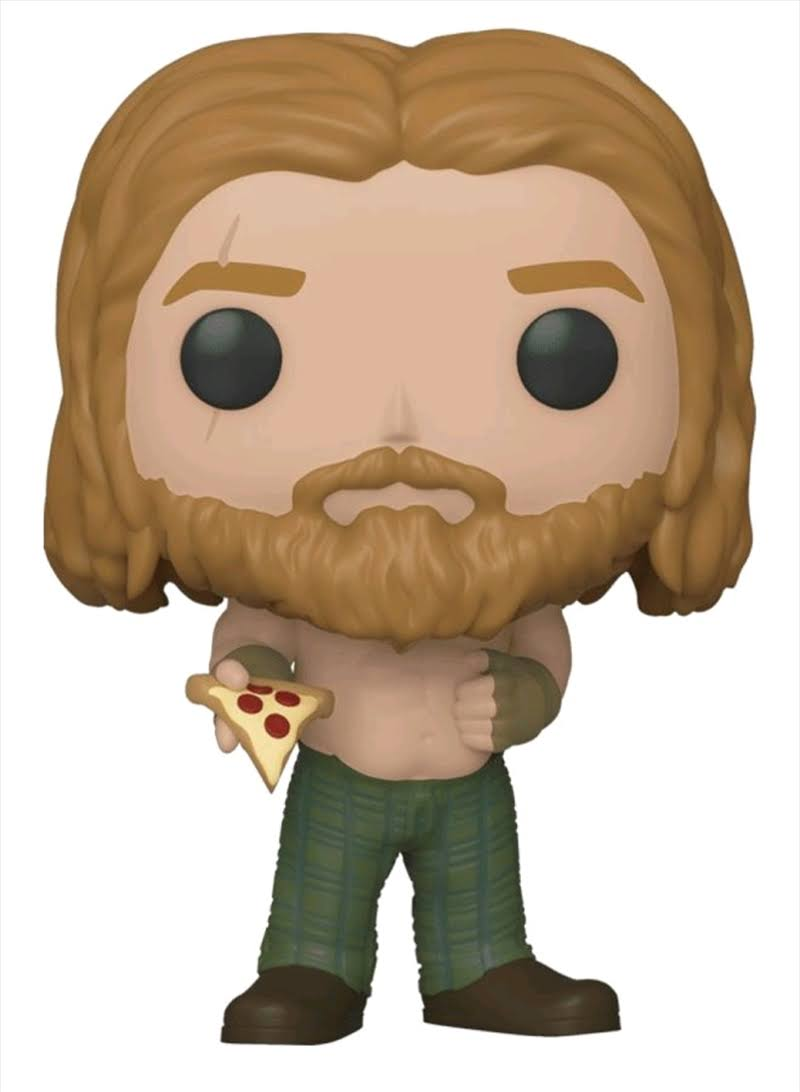 Funko Pop Marvel Avengers Endgame Thor with Pizza Vinyl Figure