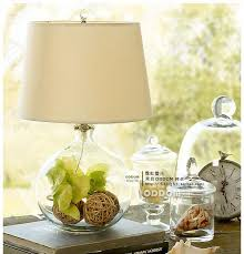 Glass Table Lamps For Bedroom by Round Ball Home Lights Table Lamps Bedroom Bedside Lamp Modern