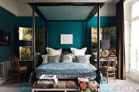 Teal Blue Master Bedrooms Romantic Bedroom Decorating Ideas