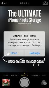 The Ultimate iPhone Storage