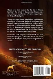 A Conspiracy Of Rogues The Blackscale Thief Volume 1 Jonathon Burgess 9780990960447 Amazon Books