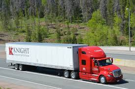 100 Knight Trucking Company Trucks On Sherman Hill I80 Wyoming Pt 9