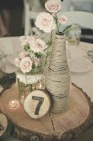 Made Remade Rustic Diy Vintage Wedding Centerpieces Decorations