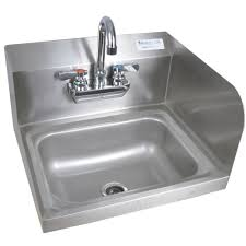Stainless Steel Mop Sink by Bk Resources 14