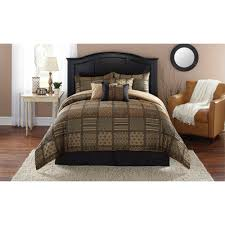 Walmart Bed In A Bag by Mainstays Comforter Sets Bedding Walmart Com