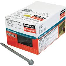 Simpson Decorative Joist Hangers by Simpson Strong Tie Strong Drive Sds Ledger Deck Sds25500