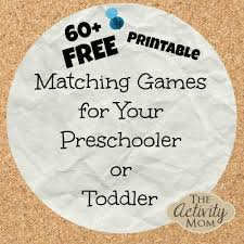 Printable Halloween Books For Preschoolers by The Activity Mom Free Printable Matching Games