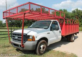 100 2006 Ford Truck F350 Super Duty XL Flatbed Pickup Truck Item DD5