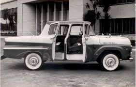 OG | 1958 Ford Do Brasil F-100 Mk3 L Four-door Pick-up Prototype ...