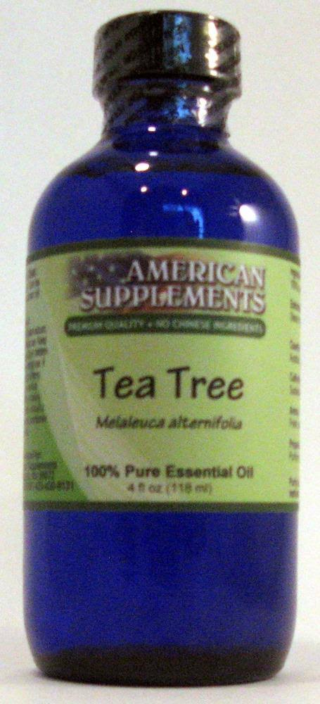 American Supplements Tea Tree Essential Oil - 4 oz Oil