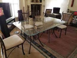Glass Dining Room Table With 4 Chairs For Sale In Tucson AZ