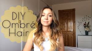DIY Ombré at Home Touching up Ombré