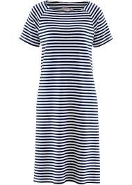 bonprix suivi de commande robe designed by maite bleu foncé blanc é commande