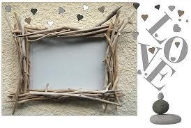 cadre style bâton n 17 pour miroir ou photo au fil de l