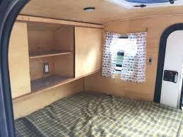 Teardrop Camper Inside Trailer Interior Used For Sale Craigslist
