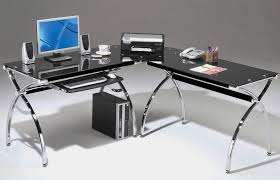 more comfortable with glass computer desk the decoras jchansdesigns