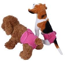 female dog pants 100 cotton clothes nappy pet menstruation