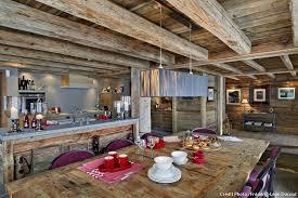 cuisine style chalet custom decoration cuisine chalet galerie accessoires de salle bain