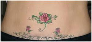 Belly Button Flower Tattoos
