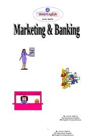 Marketing & banking