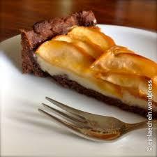 birnen brownie tarte 3 5