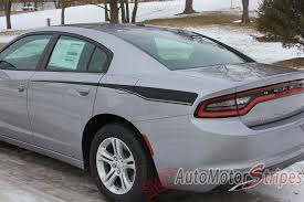 2015 2018 Dodge Charger Stripes Hood Decals RECHARGE BO Vinyl