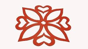 How To Make Simple Easy Paper Cutting Flower Designs DIY Instructions