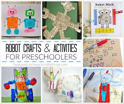 Here Are Six Creative Preschool Robot Crafts And Activities That Encourage Incorporate Learning Kids Will Love Find Ideas Include Everything