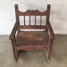 100 Cowboy In Rocking Chair Vintage