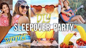 Summer Girls Night Party DIY Ideas For Decor Food
