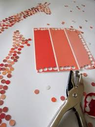 DIY Projects Made With Paint Chips