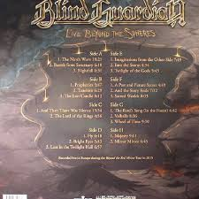 BLIND GUARDIAN Live Beyond The Spheres vinyl at Juno Records