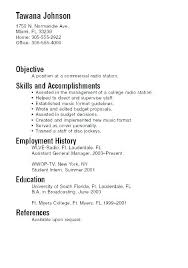 Information Technology Student Resume Sample No Experience Graduate Example Of A College Examples Resumes Unique