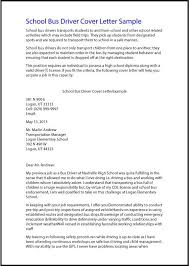 Sample Template Free U2013 Theworldtome Cover Letter Bus Driver