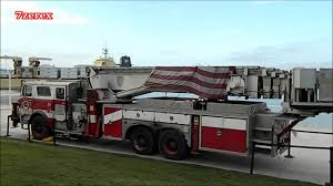 FIRE TRUCK Ladder Truck 152 From 911 In San Diego 9-9-2012 - YouTube
