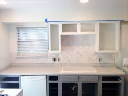 charming subway herringbone tile backsplash 3 diy herringbone