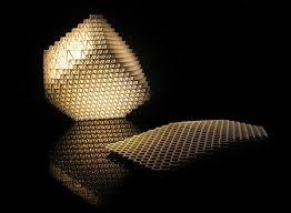 Laser Cut Lamp Shade by Laser Cut Collapsible 3d Lamp Techeblog