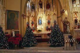 Sweetest Heart Of Mary Roman Catholic Church SHM At Christmas