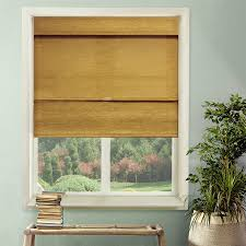 Kenney Magnetic Window Curtain Rods by Kenney Cordless Thermal Blackout Roman Shade Chocolate Walmart Com