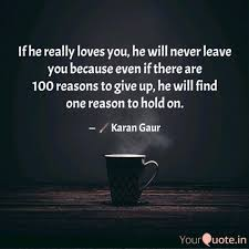 If He Really Loves You H Quotes Writings By Karan Gaur