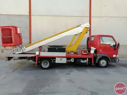 100 Truck Mounted Boom Lift Mounted Aerial Platform NISSAN 160 ALU 1 ID 4084192