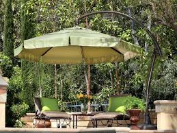 Patio Umbrella Offset Tilt patio ideas 10 foot wide rectangular offset patio umbrella with