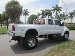 100 2005 Ford Trucks F 550 C7 CAT WITH Allison Trani Monster Truck For Sale