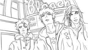 Bleach Coloring Pages