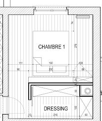 plan dressing chambre chambre projet notre maison notre projet