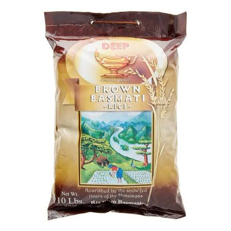 Deep Premium Qaulity Brown Basmati Rice - 10lbs