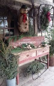 40 Rustic Outdoor Christmas Decorations Ideas Celebration
